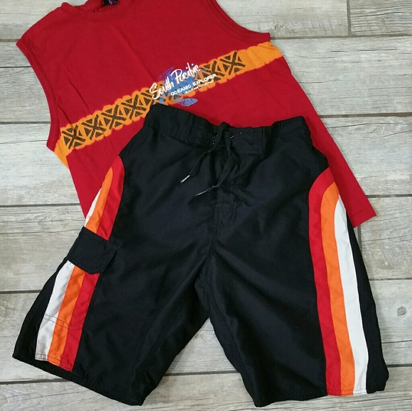 4614723f99 Joe Boxer Other - Joe Boxer Swim Trunks Boarding Shorts